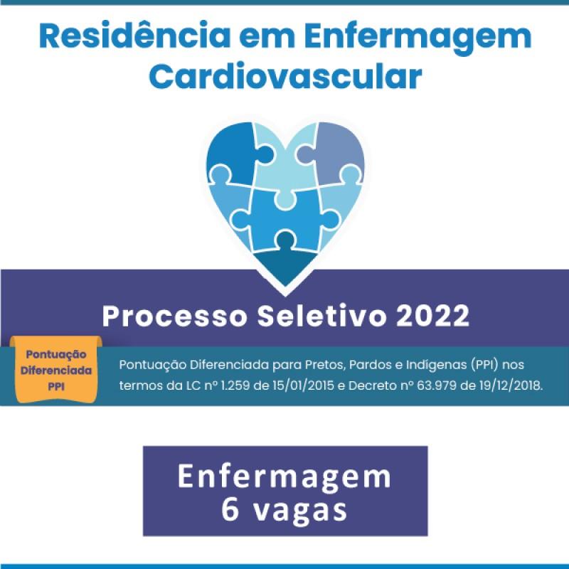 Programa de Residência em Enfermagem Cardiovascular - 2022