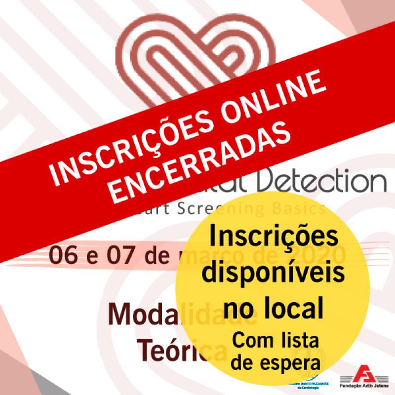 Curso de Ecocardiografia Fetal - Modalidade Básica - CURSO TEÓRICO - Inscrições somente no local