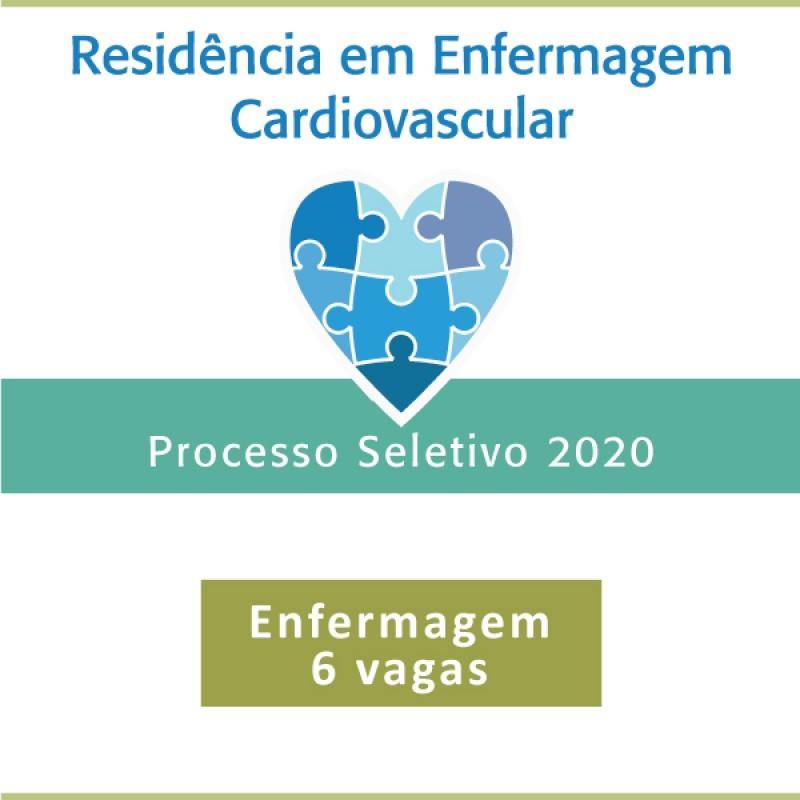 Programa de Residência em Enfermagem Cardiovascular - 2020